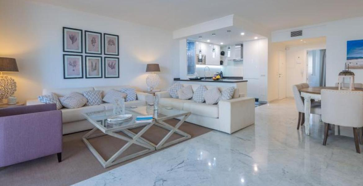 A magnificent apartment located in the prestigious complex